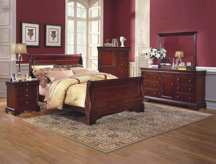 Charmant Versailles Cherry Queen Bed, Dresser, Mirror, U0026 Night Stand,New Classic